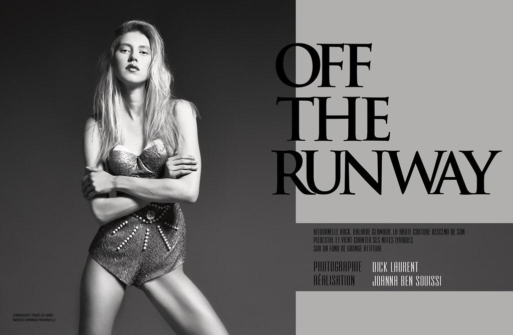 Off The Runway - Femmes de Tunisie - JUILLET 2014